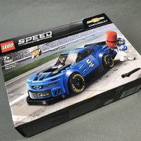 LEGO 超级赛车 75891 雪佛兰卡罗ZL1赛车图片展示(卡车|轮胎|底盘|履带轮|齿轮)