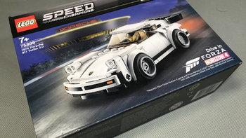 LEGO 超级赛车 75895 1974年保时捷911Tubro 3.0图片展示(人仔|头盔|车尾)