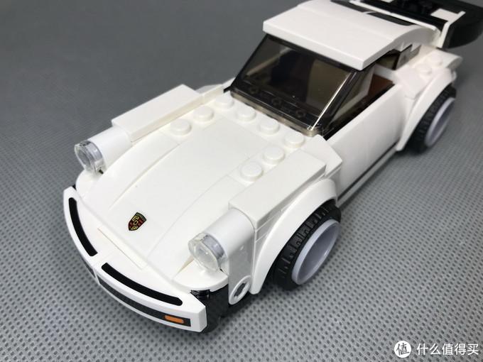 百元小跑车:LEGO 超级赛车 75895 1974年保时捷911Tubro 3.0