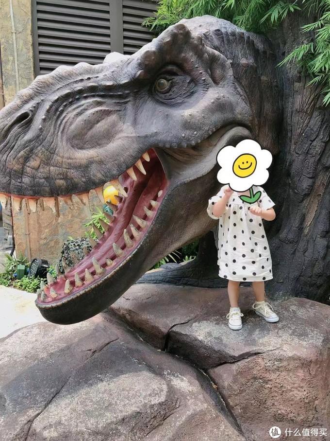 侏罗纪里面3个项目,1个小朋友可以做,是那种升降的转圈的RIDE