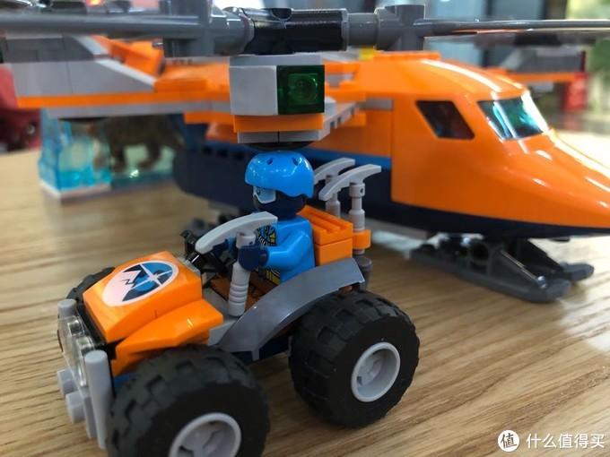 极地探险,挖出剑齿虎!乐高60193,城市系列,空中运输机