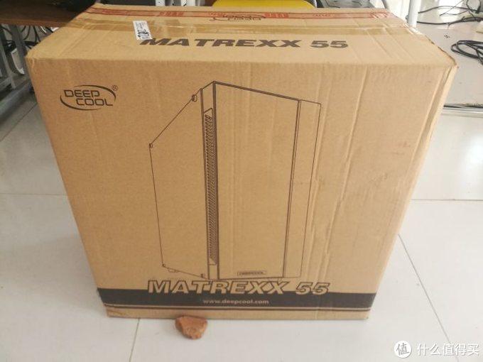 什么值得买值友福利九州风神 玄冰55电脑机箱开箱