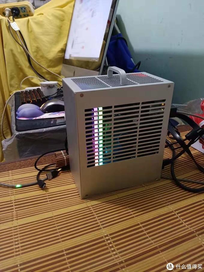 二号机用的9100f+rx470+16G低预算便携游戏机