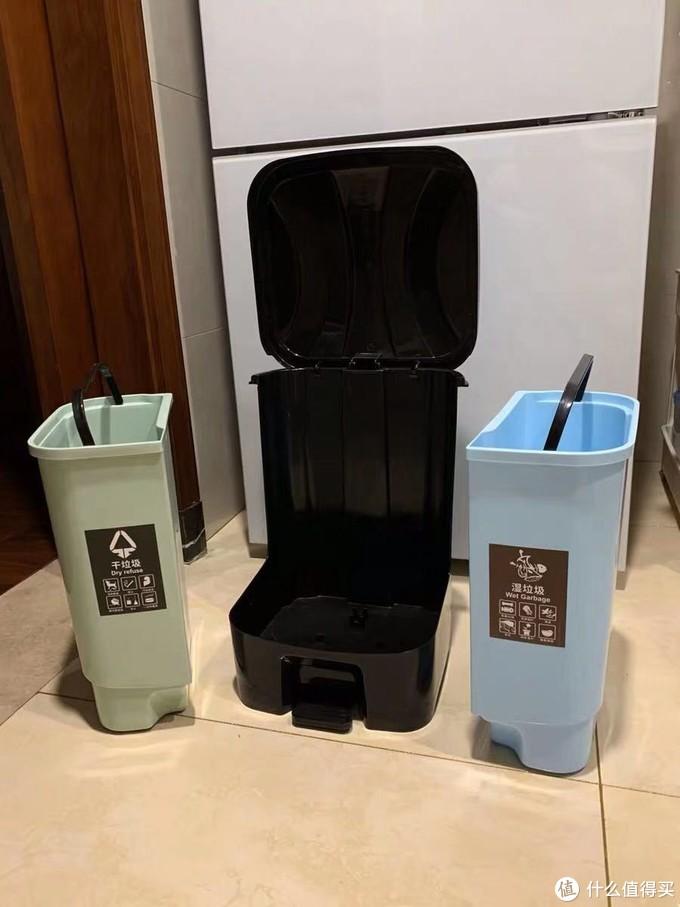 我的房间装修历程小记 篇四:干湿分离垃圾桶,好用到再也不用为分类发愁了
