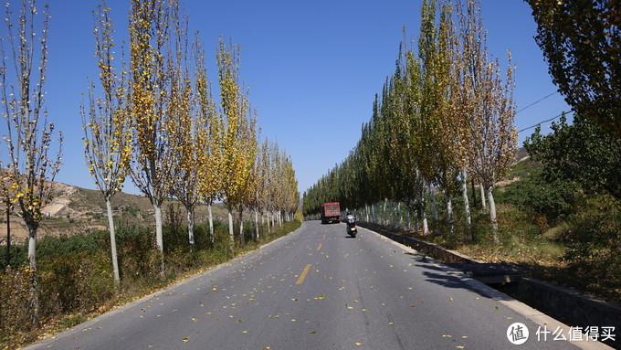 初秋的景色很美,河北段没什么大车。