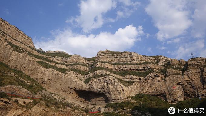 恒山的石头确实挺有个性的。