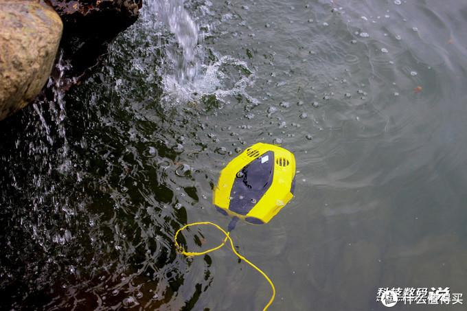 轻松拍摄刷爆朋友圈的照片,潜行多睿潜拍无人机带你拍摄水下世界