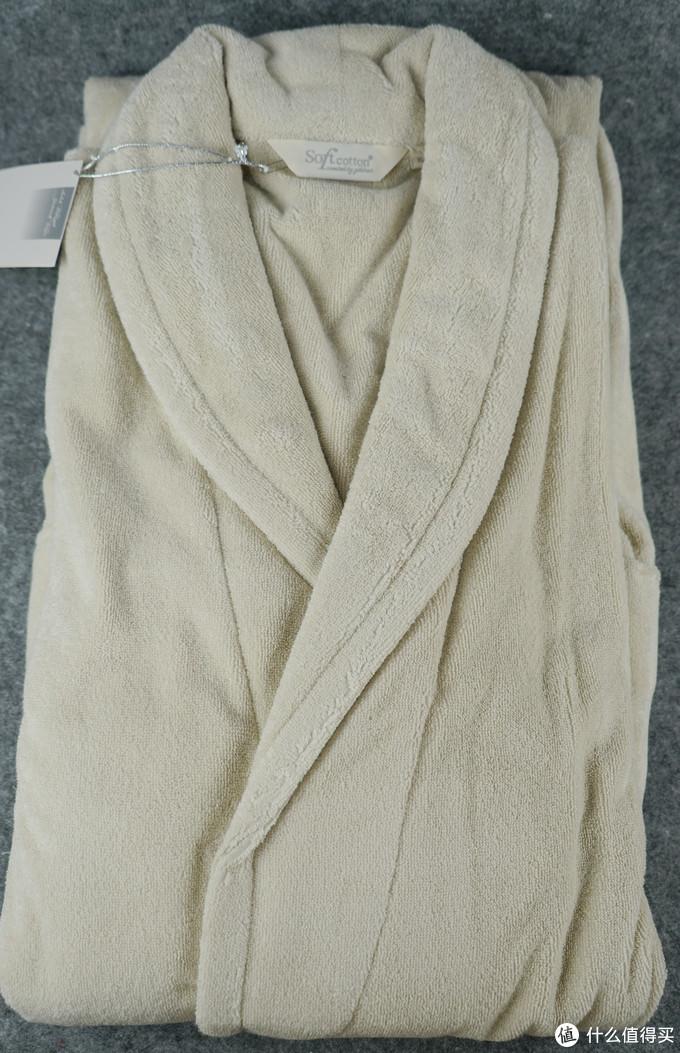 60块钱买到超越五星酒店的浴袍?还是007同款?捡漏之Soft Cotton浴袍