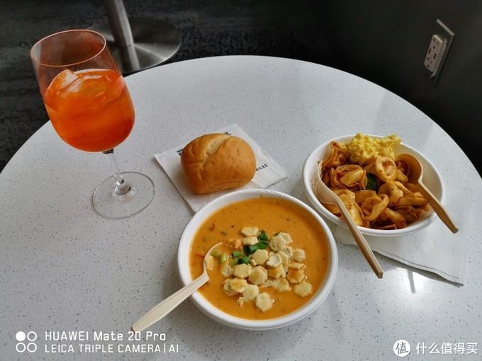 休息室的食物