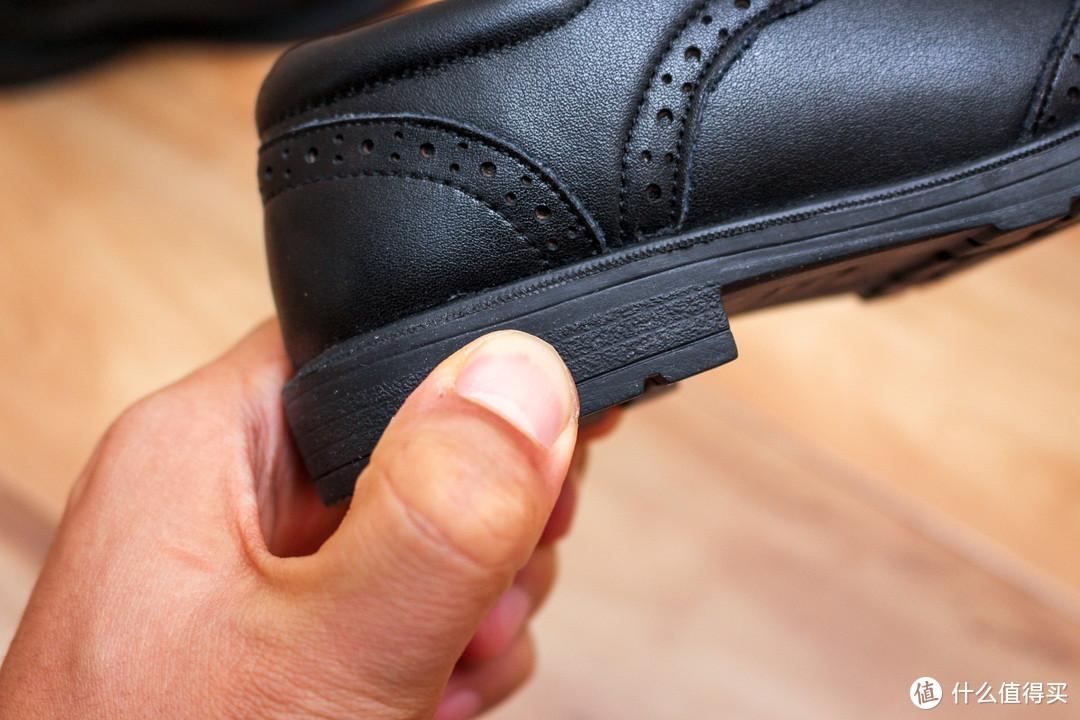 儿子的第一双皮鞋,天美意儿童皮鞋