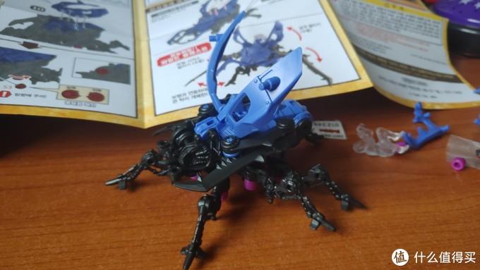 新坑新面貌——Zoids Wild 索斯机械兽 ZW07 锹甲兽