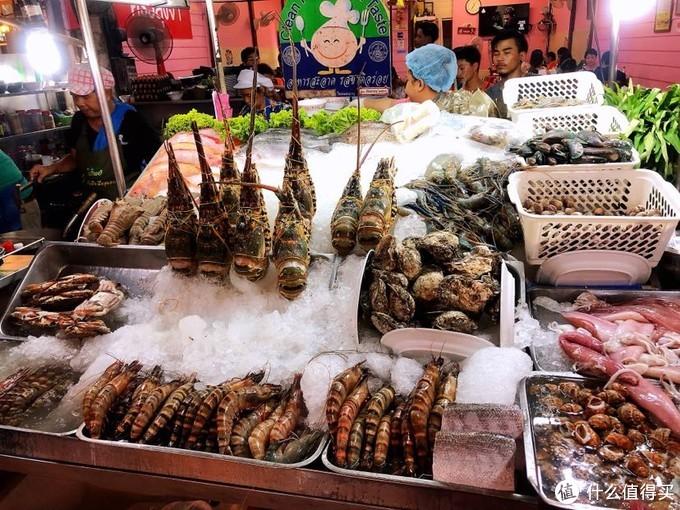 诱人的各种海鲜