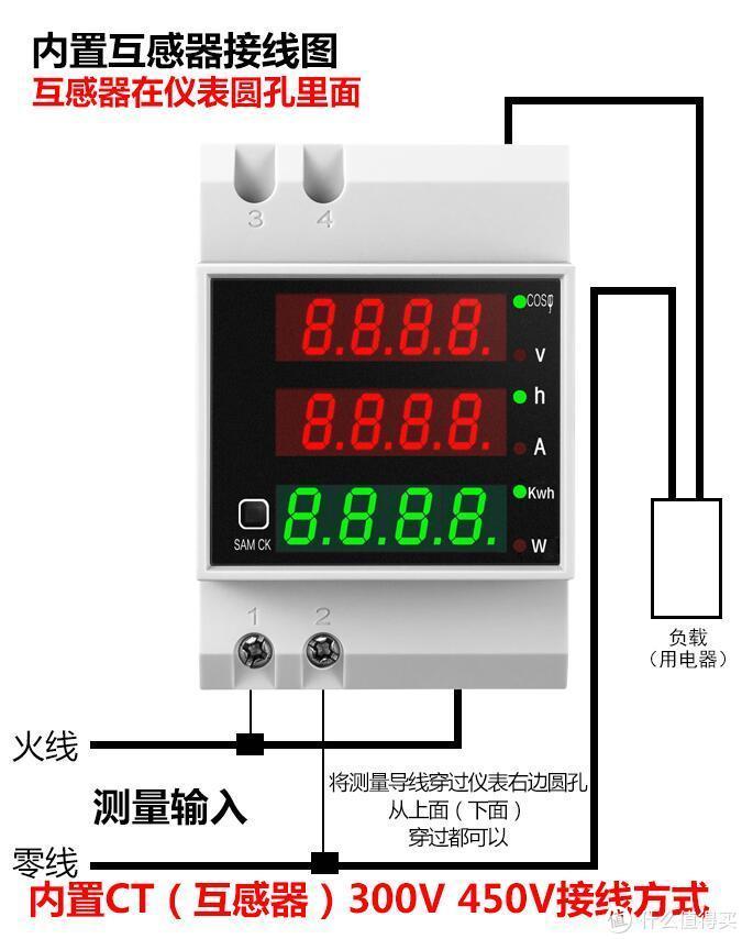 功率表,电压表