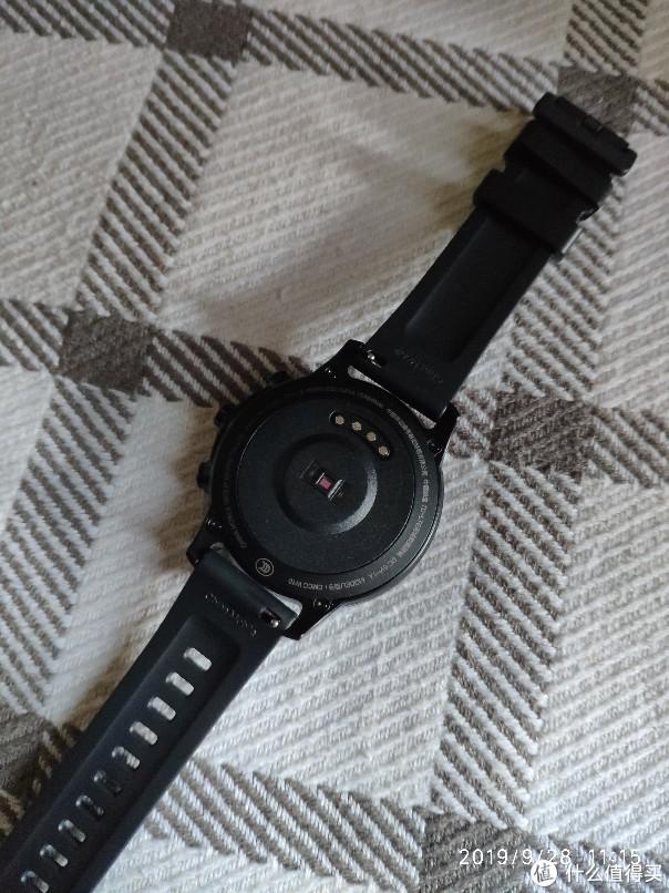 中国移动智能手表w10开箱简测