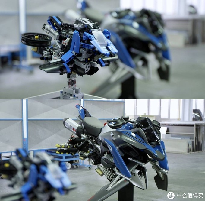乐高42063B模式飞行摩托