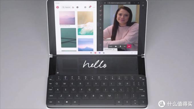 加了物理键盘的Surface Neo