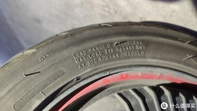 轮胎参数表示