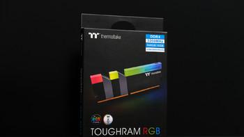 TT TOUGHRAM内存图片展示(散热片 材质 标签 芯片 金手指)