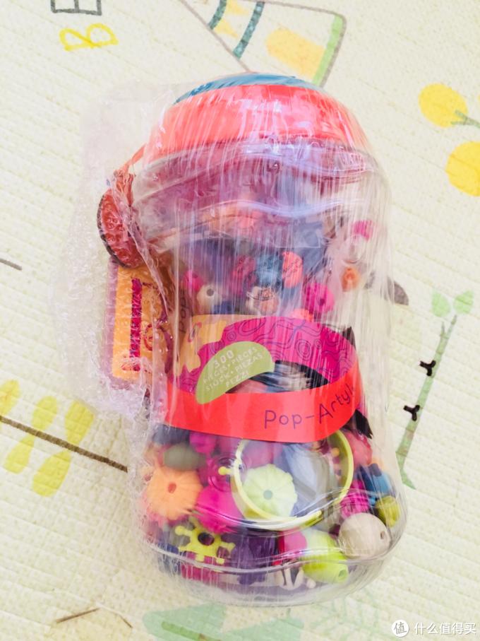 种草已久的B.toys波普无绳串珠(附4岁以下的花式玩法)