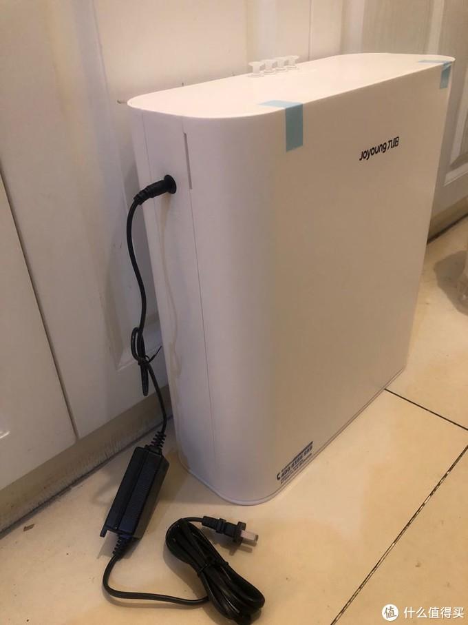 除水垢去细菌为了全家饮水安全:九阳RO反渗透膜厨下净水器安装使用简评