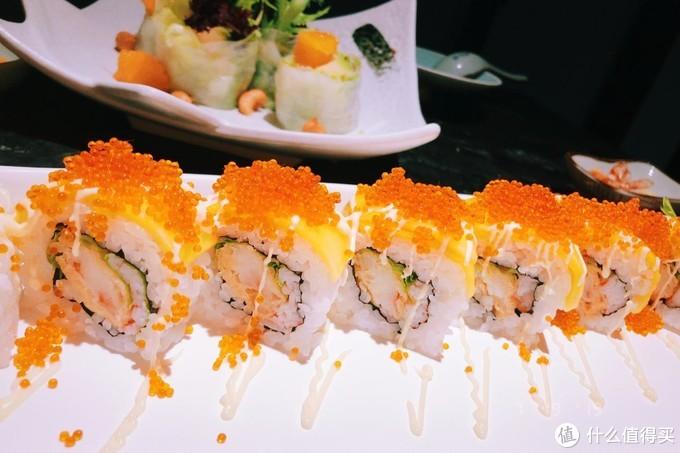 鲜虾芒果卷