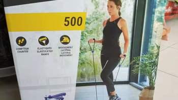 迪卡侬MS500踏步机图片展示(控制面板|参数|主机|支架|滑轨)