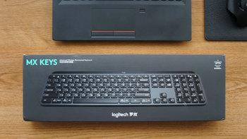 罗技 MX Keys 无线键盘图片展示(配色|包装|配件)