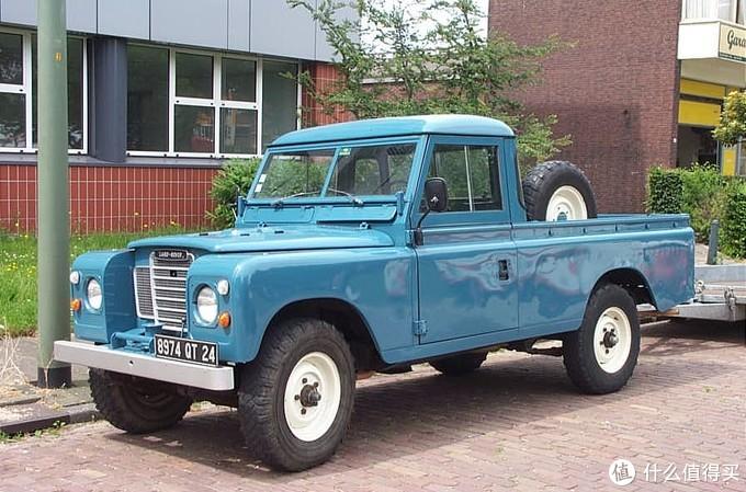 Land Rover series-III pickup