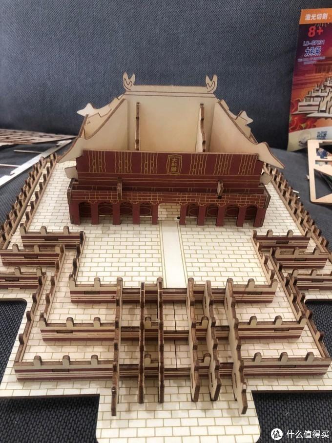 太和殿3D立体木制拼图积木玩具开箱试玩:国庆亲子欢乐时光记