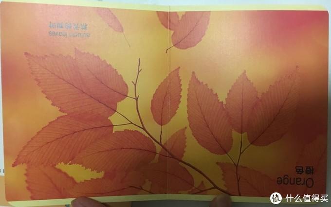 橙色物品的下一页就是一整页的橙色