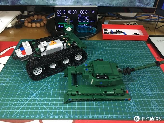 坦克外甲组装完毕