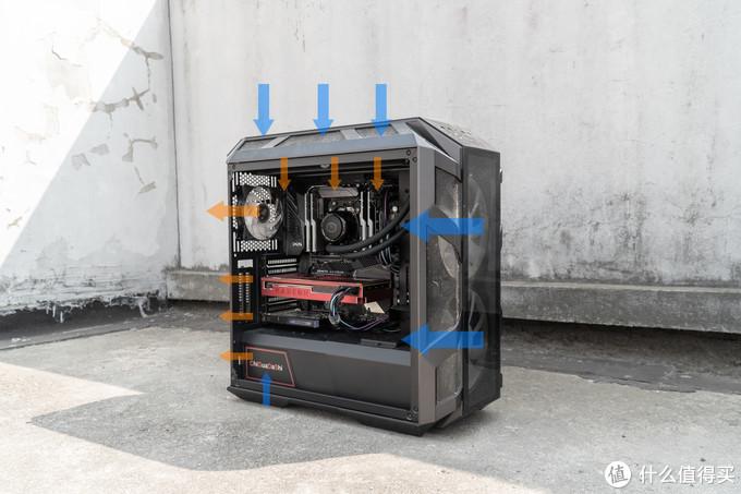 """""""猿式清灰""""重建RGB工作站!包豪斯O11 ROG定制版开箱上机"""