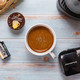 初试胶囊咖啡:奇堡小易胶囊咖啡机,一台机子三种口味