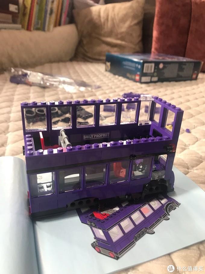 2019年的乐高哈利波特75957骑士巴士给我们带来怎么的回忆