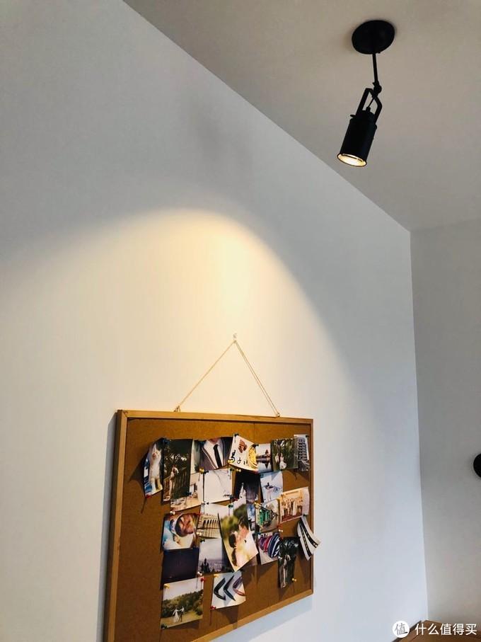 照片墙射灯
