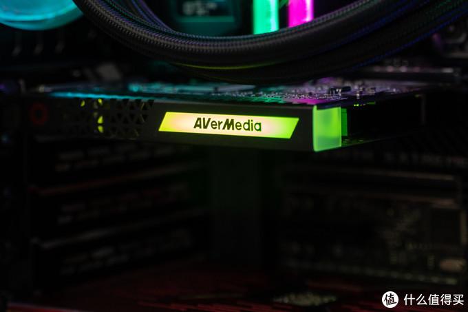视频采集卡也有RGB,要是有背板就更好了
