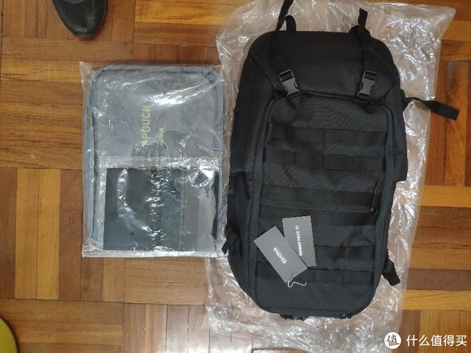 开箱代购众筹心水eshena bamian pack17 背包