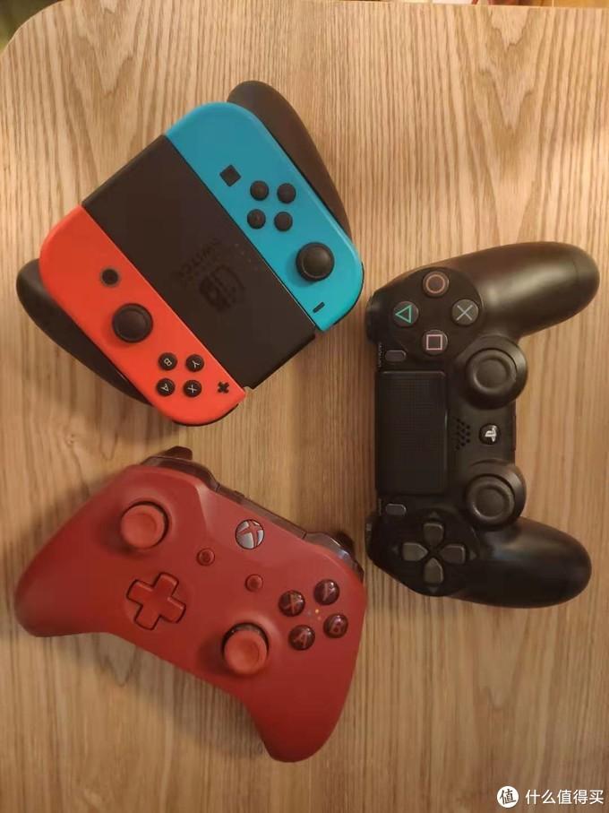 关于三大现役游戏主机手柄一些对比及思考