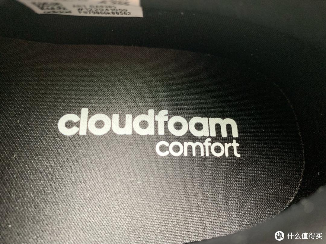 Cloudfoam技术初体验——阿迪达斯neo CF RACER TR