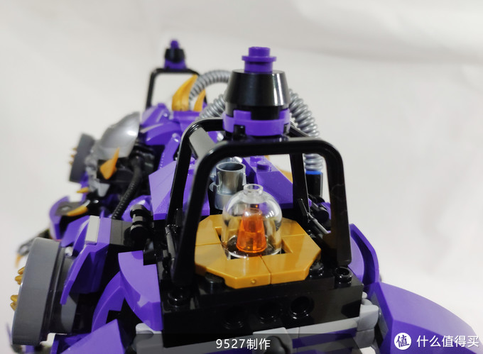 乐高科技moc-炼狱守护者-9527制作-分享