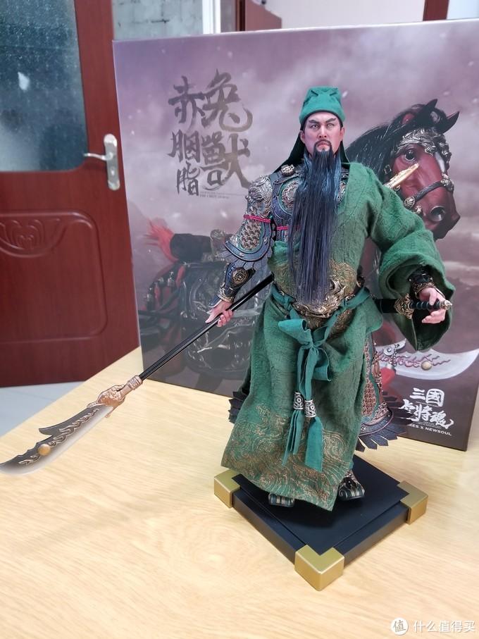五虎上将-武圣关羽inflames toys 神勇关云长2.0 开箱