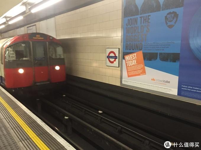破旧的伦敦地铁