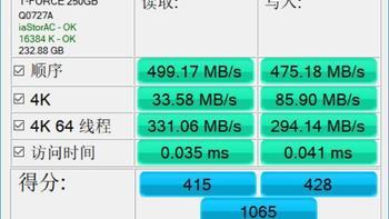 十铨Delta Max RGB SSD使用体验(配置 seq 碎片整理 分区 系统)