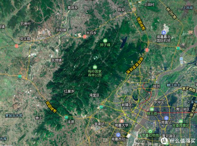 景区卫星图