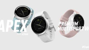 高驰APEX运动手表图片展示(麦克风|摄像头|电源唤醒键|喇叭口|主体)