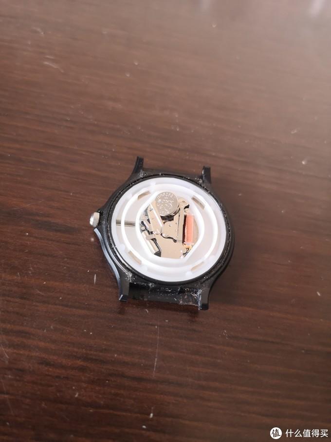 网红表?卡西欧MQ24小黑表换电池记