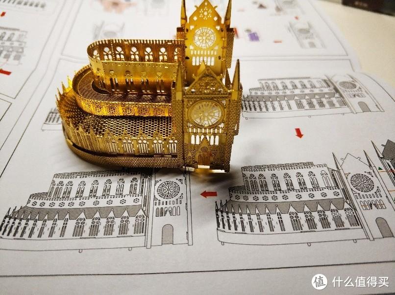 送你个缩小的巴黎圣母院——拼酷金属拼装模型开箱晒物