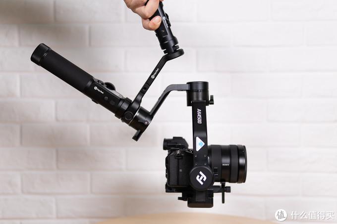 飞宇AK4500相机稳定器测评:全能 全方位高能