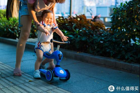 实用向!可座可站一到六岁战5年——COOGHI酷骑两用儿童滑板车