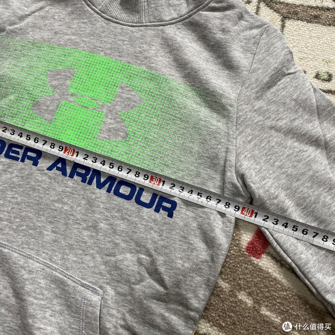 Under Armour儿童logo连帽卫衣